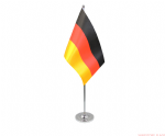 GERMANY - DELUXE SATIN TABLE FLAG
